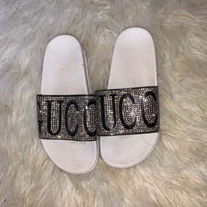 Shoes - Bling slides Gucci